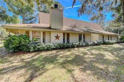 Hilton Head Island Single Family Home For Sale: 42 N Port Royal Drive