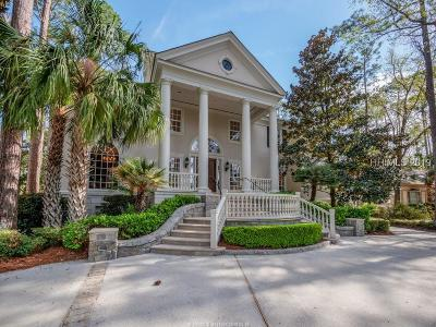 Hilton Head Island Single Family Home For Sale: 21 Harrogate Drive