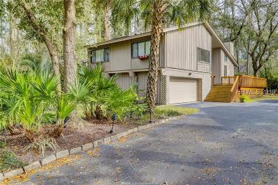 Hilton Head Island Single Family Home For Sale: 22 Goldfinch Lane