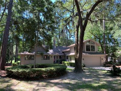 Hilton Head Island Single Family Home For Sale: 19 Wood Duck Road