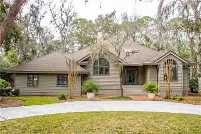 Hilton Head Island Single Family Home For Sale: 6 Ruddy Turnstone Road