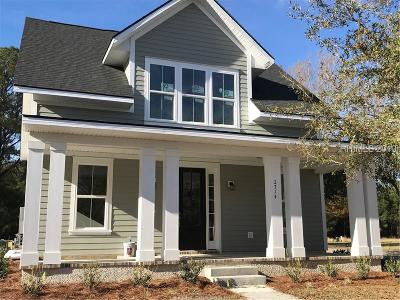 Beaufort Single Family Home For Sale: 2714 Satilla Blvd