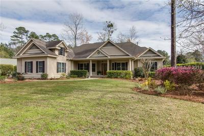 Bluffton Single Family Home For Sale: 197 Cutter Circle