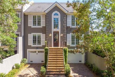 Hilton Head Island Single Family Home For Sale: 49 Harbour Passage E