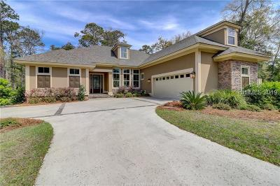 Hilton Head Island Single Family Home For Sale: 19 Pond Drive