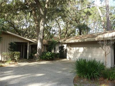 Hilton Head Island Single Family Home For Sale: 6 E Garrison Place