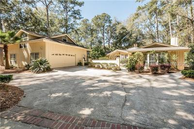 Hilton Head Island Single Family Home For Sale: 44 Gloucester Road