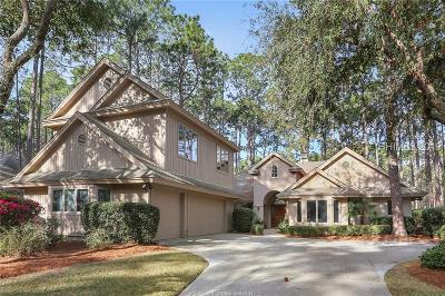 Hilton Head Island Single Family Home For Sale: 31 Eagle Claw Drive