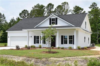 Jasper County Single Family Home For Sale: 196 Graham Hall S