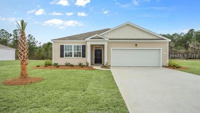 Bluffton SC Single Family Home For Sale: $264,990