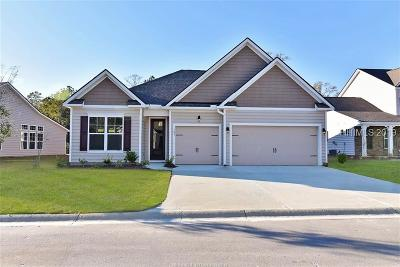 Bluffton Single Family Home For Sale: 222 Hulston Landing Road
