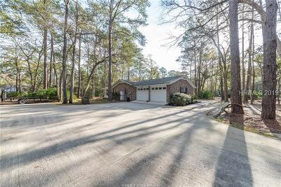 Bluffton Single Family Home For Sale: 185 Sawmill Creek Road
