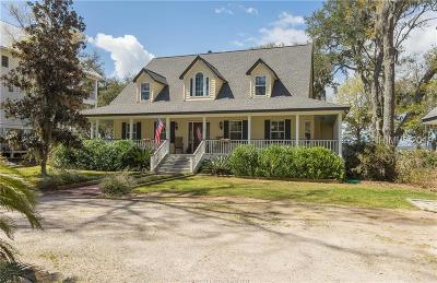 Saint Helena Island Single Family Home For Sale: 107 Fort Fremont Road