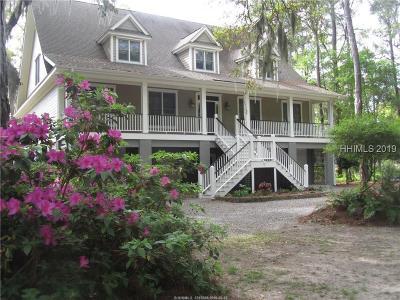 Saint Helena Island Single Family Home For Sale: 81 Bermuda Downs