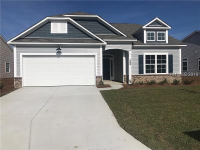 Hardeeville Single Family Home For Sale: 314 Fort Sullivan Drive