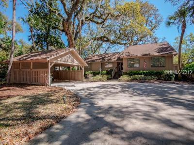 Hilton Head Island Single Family Home For Sale: 24 Promontory Court