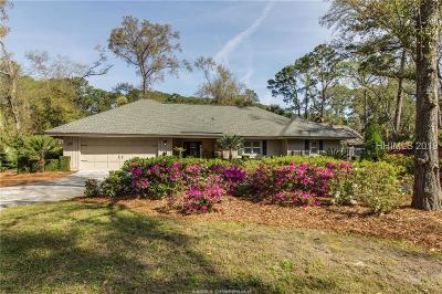 Hilton Head Island Single Family Home For Sale: 17 Pineland Road
