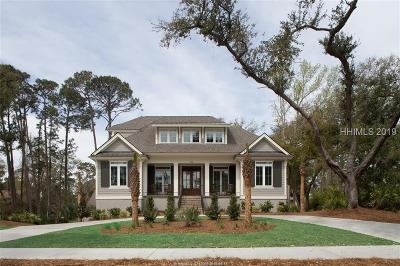 Hilton Head Island Single Family Home For Sale: 79 Mooring Buoy
