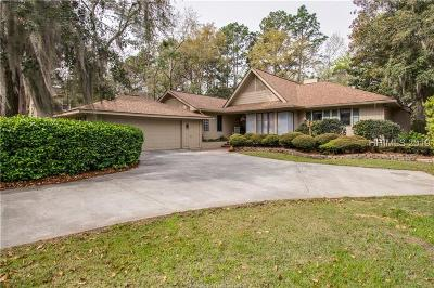 Hilton Head Island Single Family Home For Sale: 9 Button Bush Lane