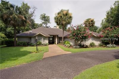 Hilton Head Island Single Family Home For Sale: 4 Moss Creek Court