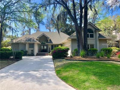 Hilton Head Island Single Family Home For Sale: 6 Golden Hind Drive