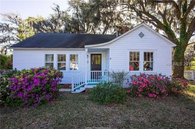 Beaufort Single Family Home For Sale: 311 Ribaut Road