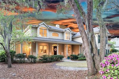 Hilton Head Island Single Family Home For Sale: 20 Sovereign Drive
