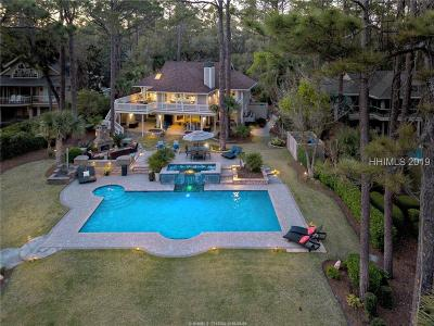 Hilton Head Island Single Family Home For Sale: 18 Bald Eagle Road