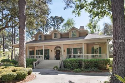 Hilton Head Island Single Family Home For Sale: 5 Magnolia Cresent Road