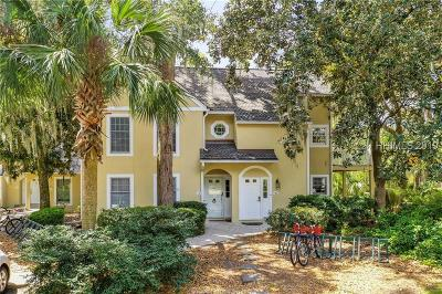 Hilton Head Island Condo/Townhouse For Sale: 70 Shipyard Drive #138