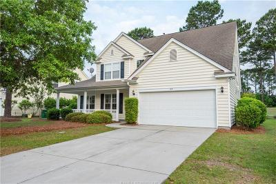 Bluffton Single Family Home For Sale: 107 Crestview Lane