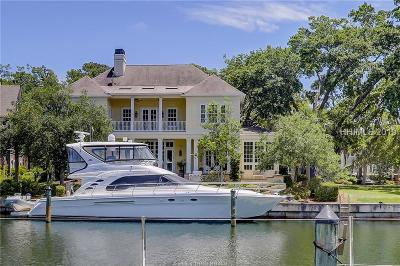 Hilton Head Island Single Family Home For Sale: 50 Harbour Passage