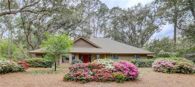 Hilton Head Island Single Family Home For Sale: 23 Sherman Drive