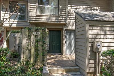 Hilton Head Island Condo/Townhouse For Sale: 113 Shipyard Drive #146