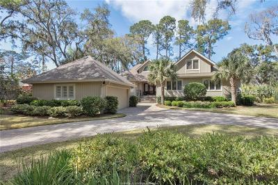 Hilton Head Island Single Family Home For Sale: 72 Governors Road
