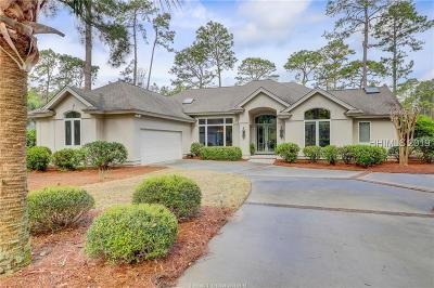 Hilton Head Island Single Family Home For Sale: 23 Saw Timber Drive