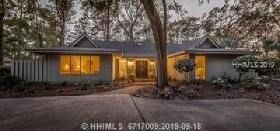Hilton Head Island Single Family Home For Sale: 2 Heritage Road