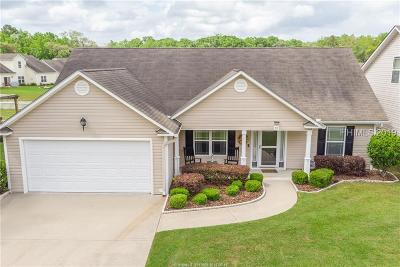 Bluffton SC Single Family Home For Sale: $217,000