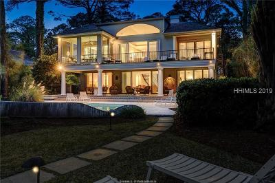 Hilton Head Island Single Family Home For Sale: 18 Cedar Wax Wing Road