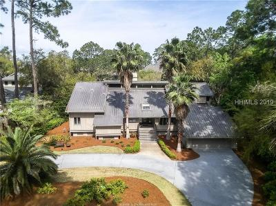 Hilton Head Island Single Family Home For Sale: 11 Pine Island Road