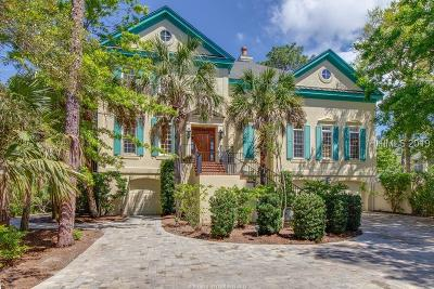 Hilton Head Island Single Family Home For Sale: 22 Coventry Lane