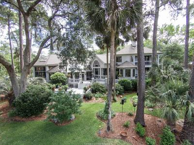 Hilton Head Island Single Family Home For Sale: 5 Pendergrass Court