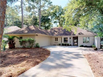 Hilton Head Island Single Family Home For Sale: 4 Fishermans Bend Court
