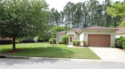 Bluffton Single Family Home For Sale: 105 Cypress Hollow