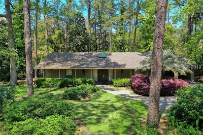 Hilton Head Island Single Family Home For Sale: 5 Jessamine Place