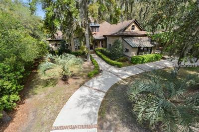 Bluffton Single Family Home For Sale: 5 Double Eagle Drive