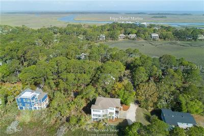 Beaufort County Single Family Home For Sale: 362 E Speckled Trout Road