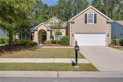 Beaufort County Single Family Home For Sale: 206 Pinecrest Circle