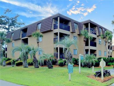 Beaufort County Condo/Townhouse For Sale: 40 Folly Field Road #D22
