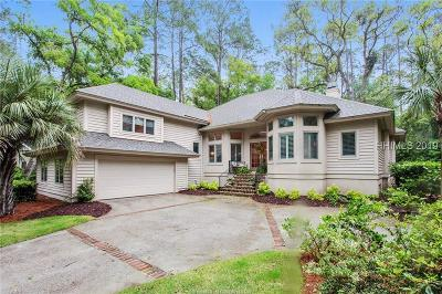 Hilton Head Island Single Family Home For Sale: 37 Governors Road